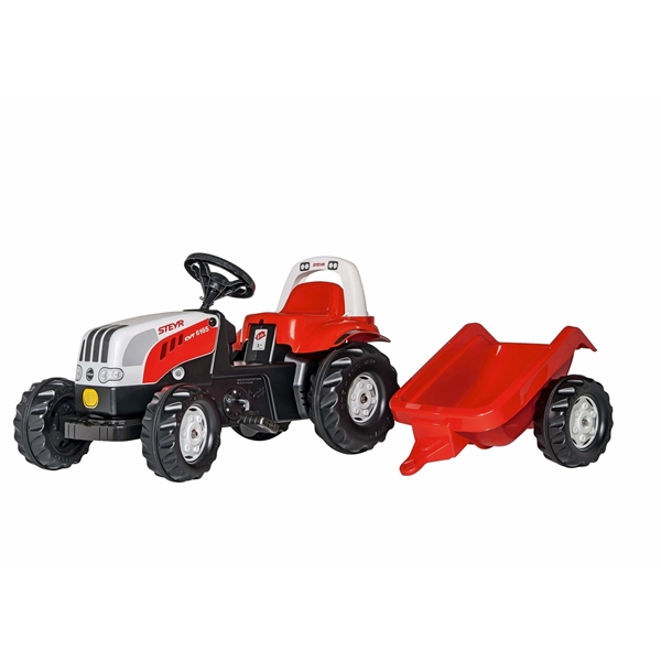 Picture of Children's STEYR 6165 CVT Pedal Tractor with Trailer