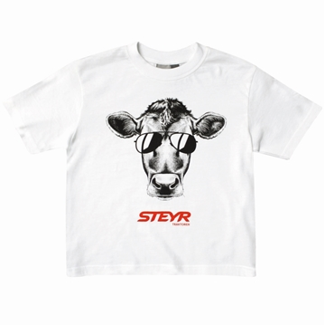 Picture of Children's Cow T-Shirt, white