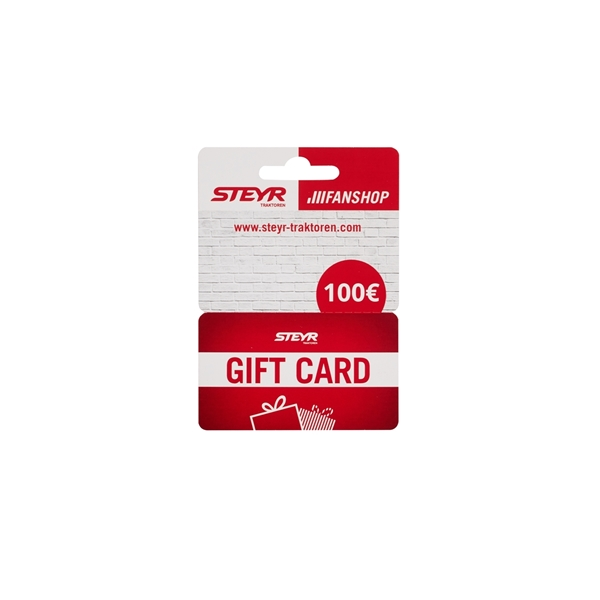 Picture of PHYSICAL GIFT CARD, CARDBOARD, 100€