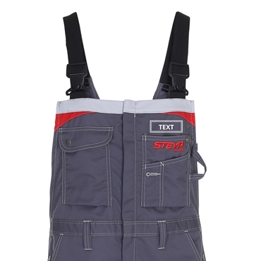 Picture of Work Bib'n Brace, Only Name