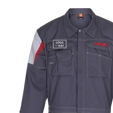 Picture of Work Boilersuit, Logo + Name