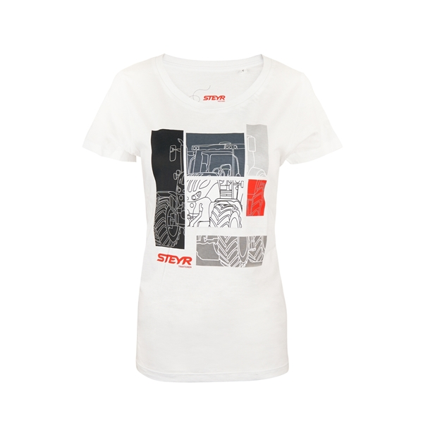 Picture of Women's T-shirt, white